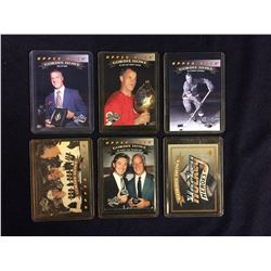 GORDIE HOWE HOCKEY CARD LOT