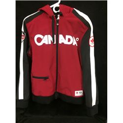 TEAM CANADA HUDSON'S BAY ZIP UP HOODIE (SIZE MEDIUM)