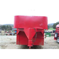 16' RED CATTLE TRAILER