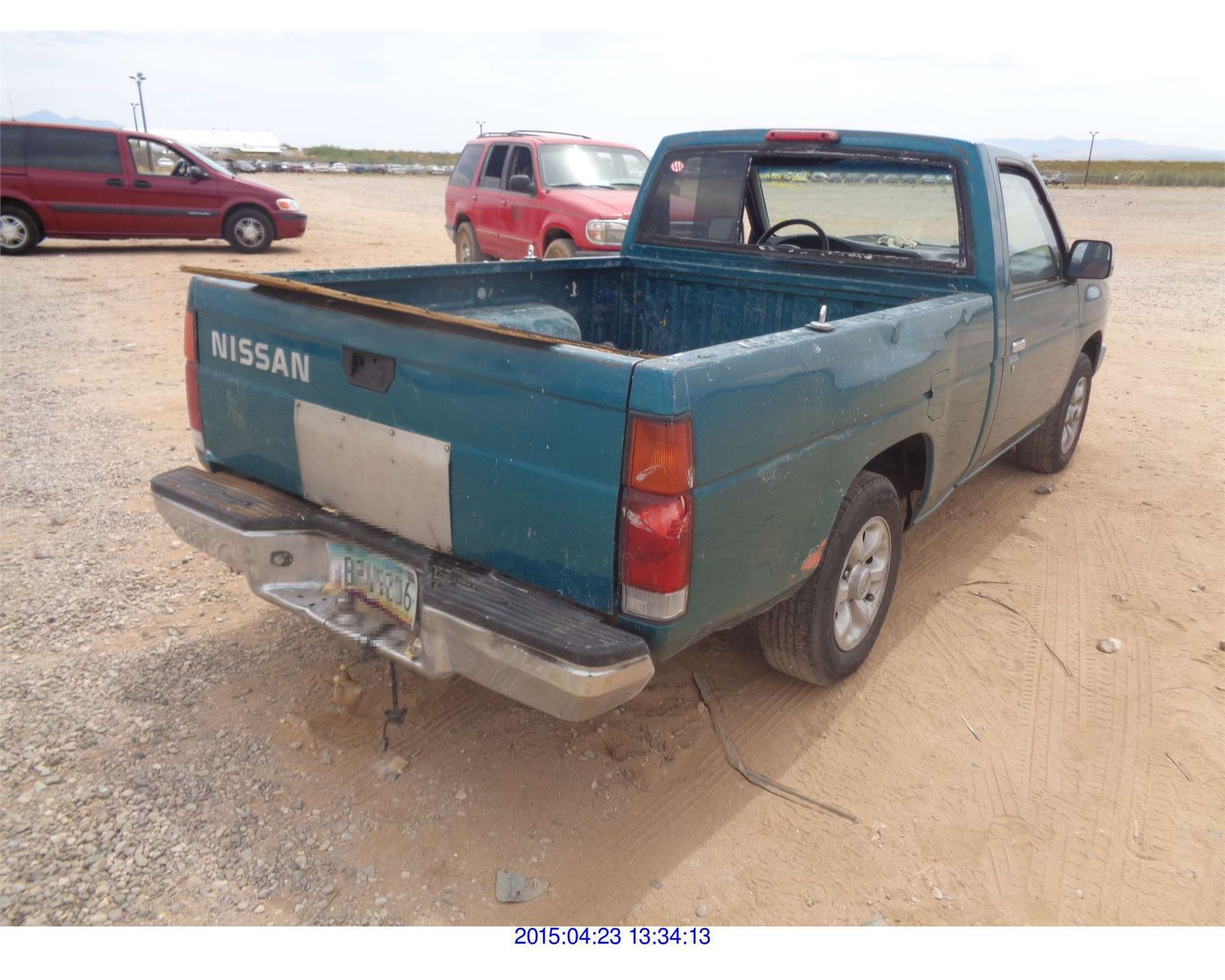 pickup nissan zombiedrive information truck origin and photos