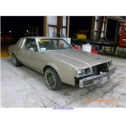 1982 - BUICK REGAL