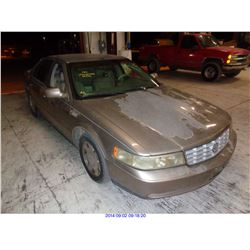 2000 - CADILLAC SEVILLE//SALVAGE TITLE