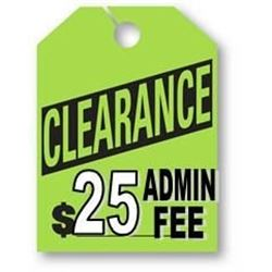 * SPECIAL CLEARANCE LOTS 9-13 *