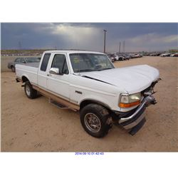 1995 - FORD F-150//DISMANTLE TITLE