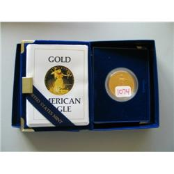 1986 1 OZ GOLD PROOF