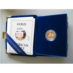 1988 1/10 OZ PROOF GOLD EAGLE
