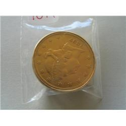 1897S $20 GOLD COIN