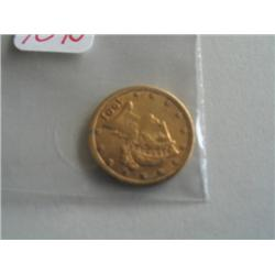 1901S $5 GOLD COIN