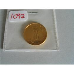 1986 1/4 OZ GOLD COIN