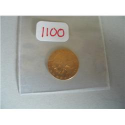 1912 $2.50 INDIAN GOLD COIN