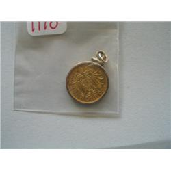 HUNGARIAN 10 KORONA GOLD COIN