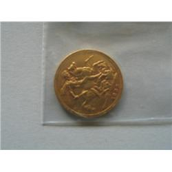 1888 BRITISH SOVEREIGN GOLD COIN