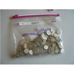LOT, ASSORT COINS (APPROX $22 90% SILVER)