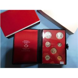 1972 CANADA COIN SET - 7 COINS  Canadian Proof Double Dollar Set