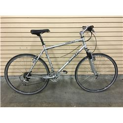 GREY BRODIE OMEGA FRONT SUSPENSION HYBRID ROAD BIKE