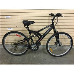 BLACK NEXT CLIFF HANGER FRONT SUSPENSION MOUNTAIN BIKE