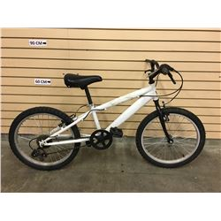 WHITE NO NAME KID'S MOUNTAIN BIKE