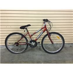 RED SUPERCYCLE SC1800 18 SPEED MOUNTAIN BIKE