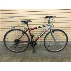 RED AND GREY CCM COMMUTER BIKE