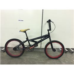 BLACK HUFFY BMX BIKE
