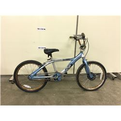 BLUE HUFFY BMX BIKE