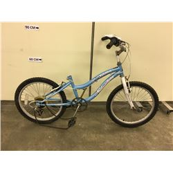 BLUE NAKAMURA GLITTER KIDS MOUNTAIN BIKE