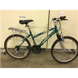 GREEN INTREPID BRAVADO FRONT SUSPENSION MOUNTAIN BIKE