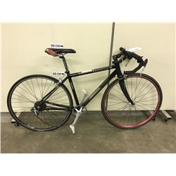 BLACK RALEIGH RE2 HYBRID ROAD BIKE
