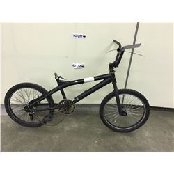 BLACK NO NAME BMX BIKE, NO BRAKES, NO SEAT