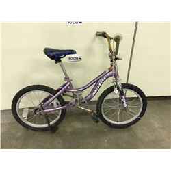 PURPLE AVIGO KIDS MOUNTAIN BIKE