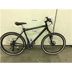BLACK COLUMBIA NORTHPEAK FRONT SUSPENSION MOUNTAIN BIKE WITH DISK BRAKES