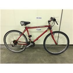 RED SCHWINN SIERRA HYBRID MOUNTAIN BIKE