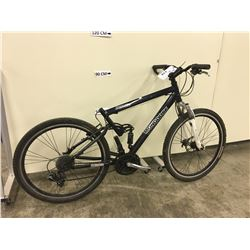 BLUE MONGOOSE IMPEL PRO FRONT SUSPENSION MOUNTAIN BIKE WITH FRONT DISK BRAKES