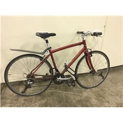 RED SPECIALIZED SIRRUS ROAD BIKE