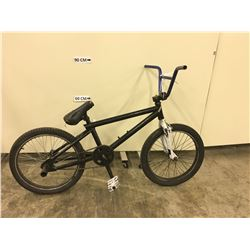 BLACK NO NAME BMX BIKE WITH REAR PEGS