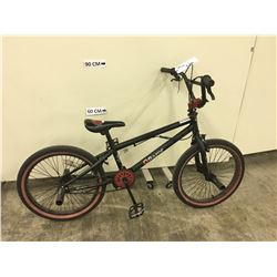 BLACK RAZOR BMX BIKE WITH GYRO AND FRONT AND REAR PEGS