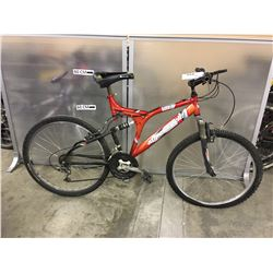 ORANGE SUPERCYCLE BURNER FULL SUSPENSION MOUNTAIN BIKE