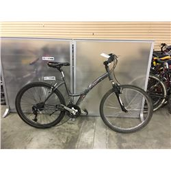GREY RALEIGH MATTERHORN FRONT SUSPENSION HYBRID MOUNTAIN BIKE