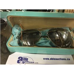 PAIR OF TIFFANY SUNGLASSES WITH CASE