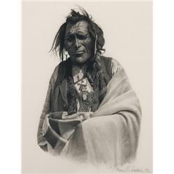 Lorimer, Thomas W. - Indian - Black & White