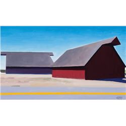Smith, Gary Ernest - Two Barns