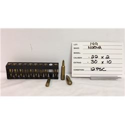 AMMO, .22, .30 NORMA
