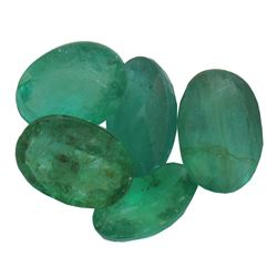 3.56 ctw Oval Mixed Emerald Parcel