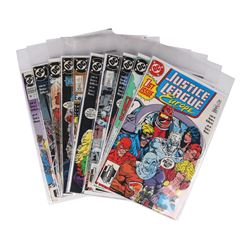 Justice League Europe Set of #1-24 + 1990 Annual