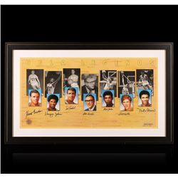 UCLA Legends Autographed Lithograph