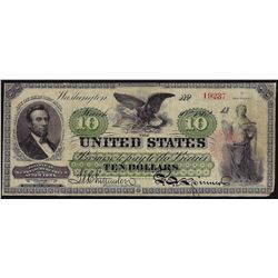 1862 $10 Legal Tender Note