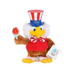 Applause 1984 USA Olympics LA Stuffed Sam the American Eagle Plush Toy with Tags