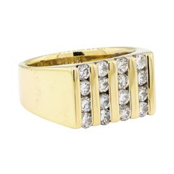 1.70 ctw Diamond Ring - 14KT Yellow Gold