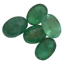 3.83 ctw Oval Mixed Emerald Parcel