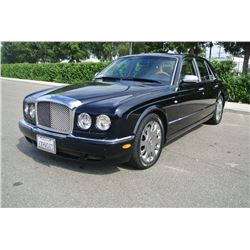 2005 Black Bentley Arnage R